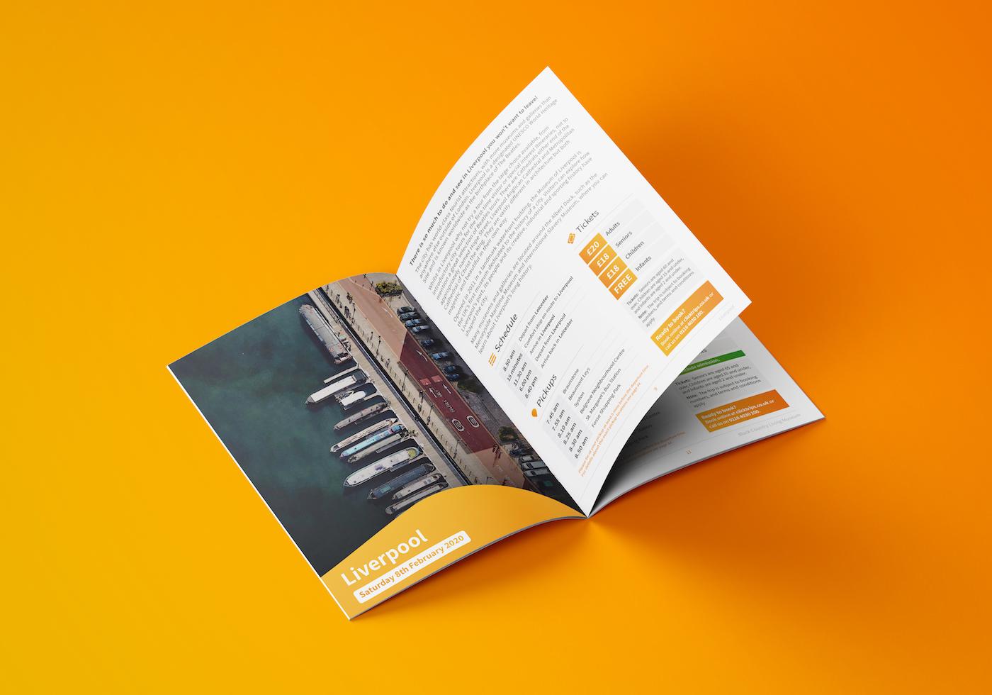 ClickTrips Brochure Design