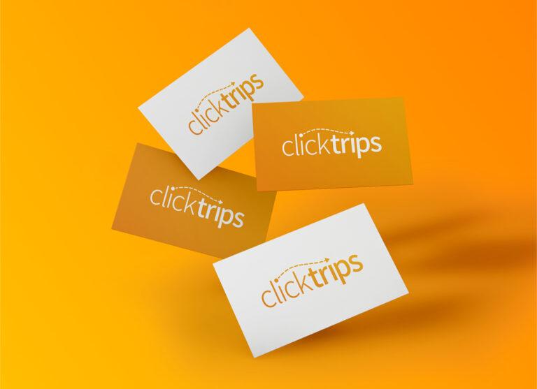 ClickTrips Logo Design