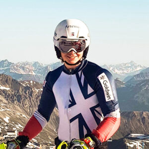 Laurie Taylor, Team GB Alpine Ski Racer