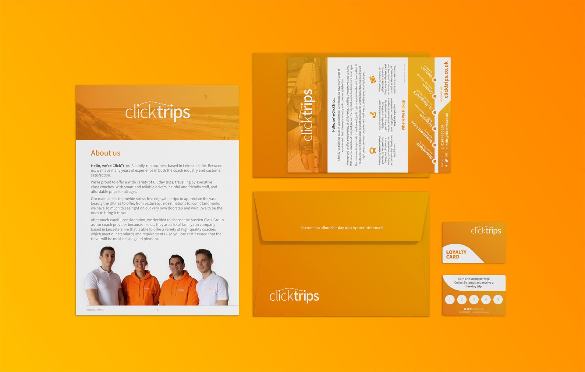 ClickTrips Branding Design