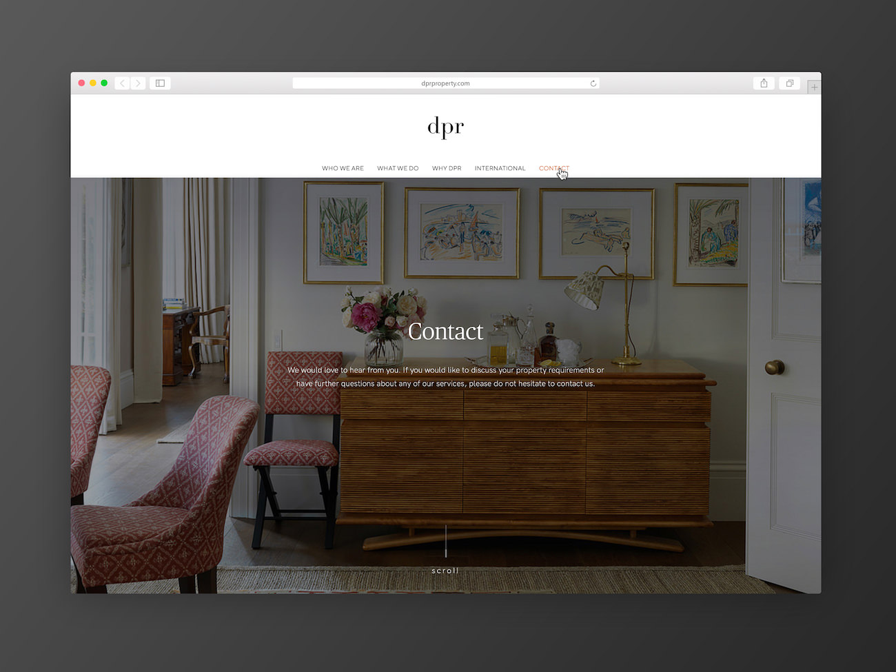 DPR Property Website