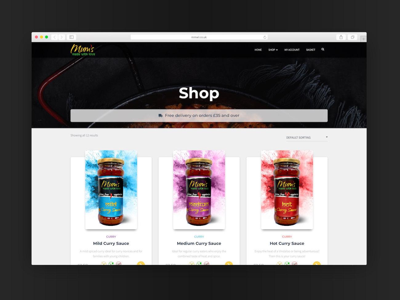 MMWL Website Design